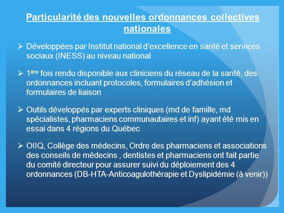 Particularité des nouvelles ordonnances collectives nationales