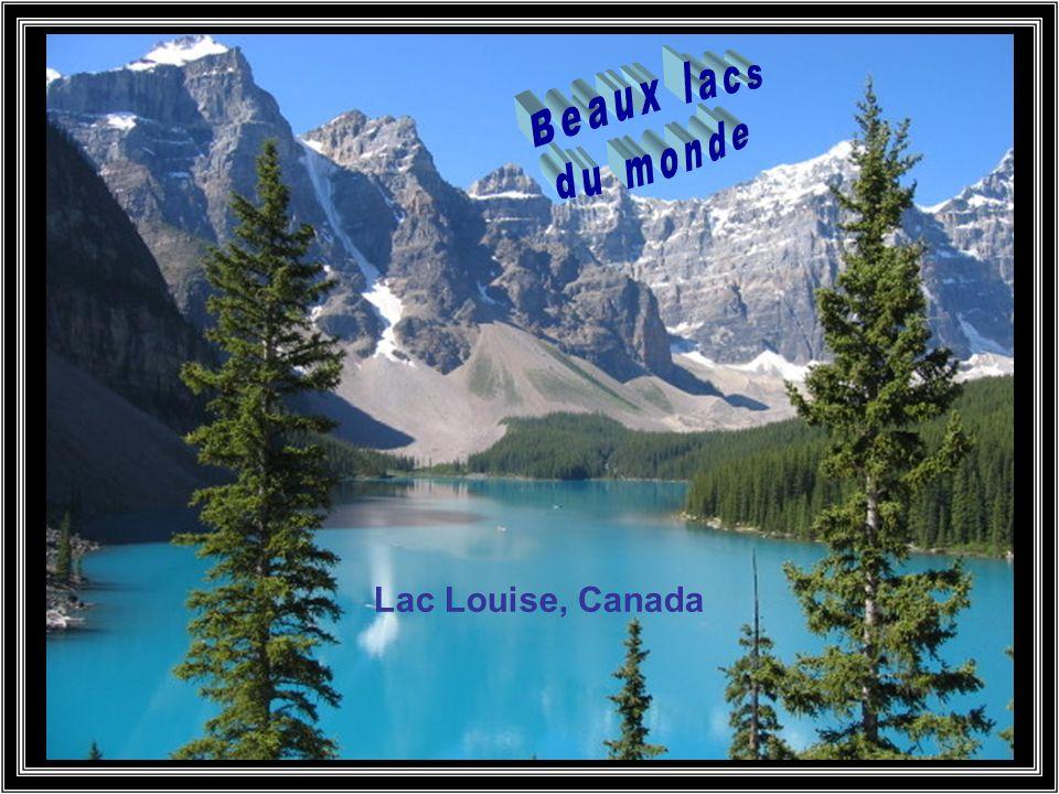 Beaux lacs du monde Lac Louise, Canada
