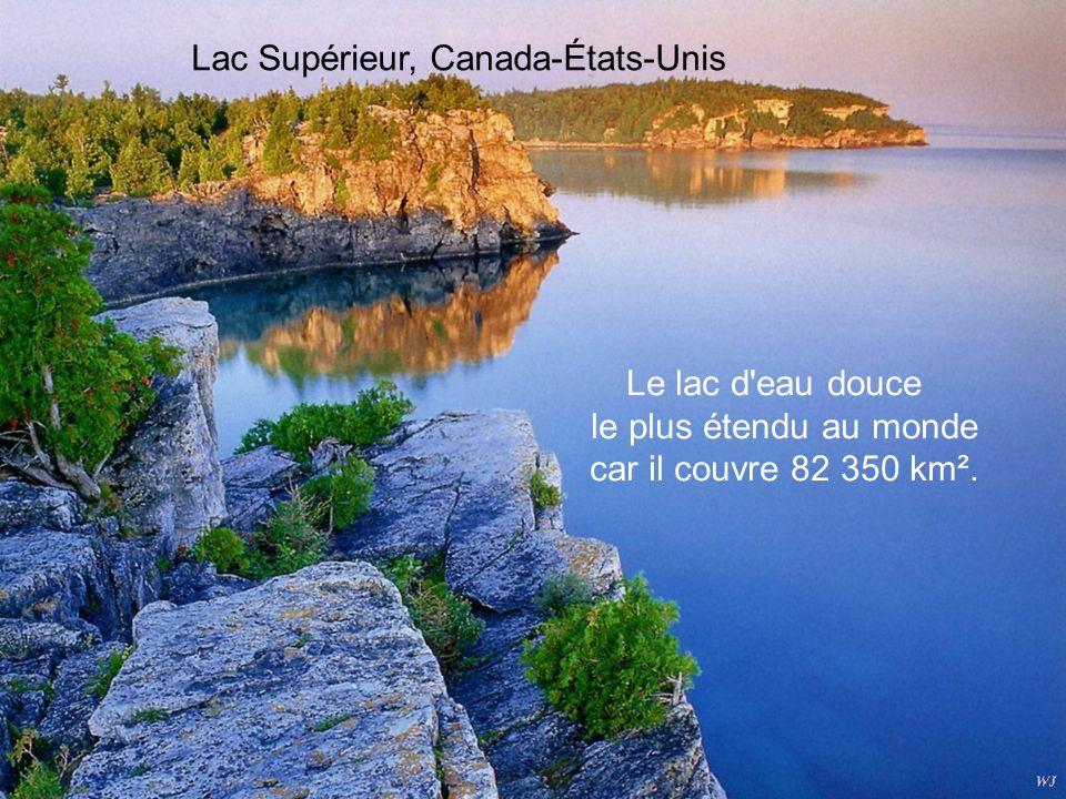 Lac Supérieur, Canada-États-Unis