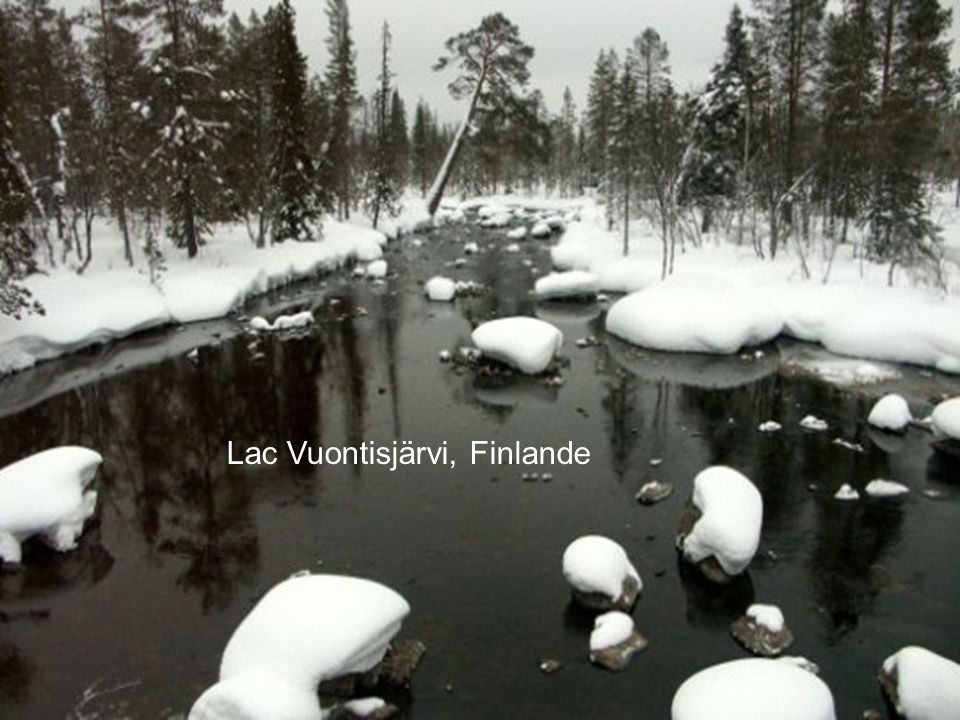 Lac Vuontisjärvi, Finlande