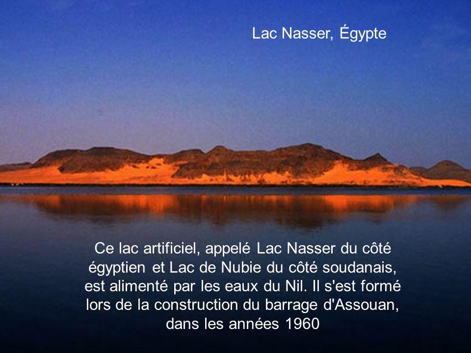 Lac Nasser, Égypte