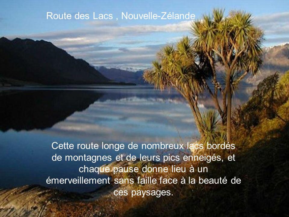 Route des Lacs , Nouvelle-Zélande