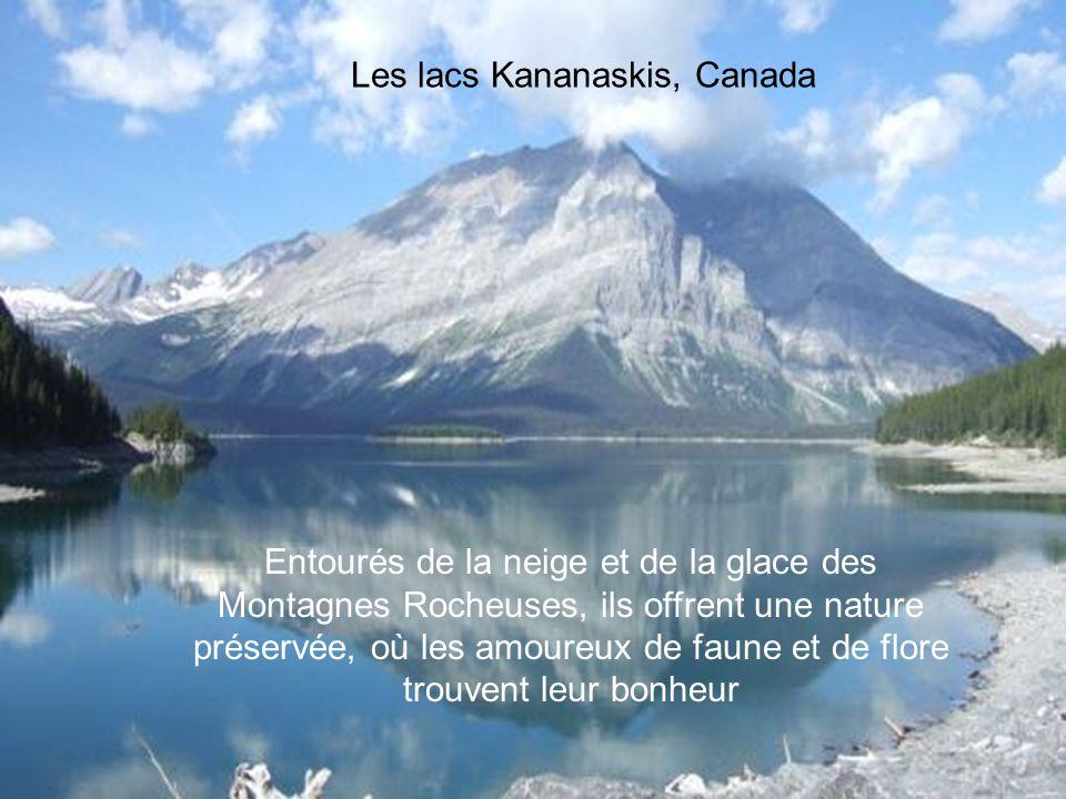 Les lacs Kananaskis, Canada
