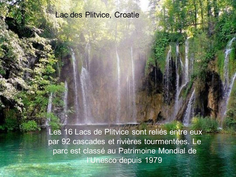Lac des Plitvice, Croatie
