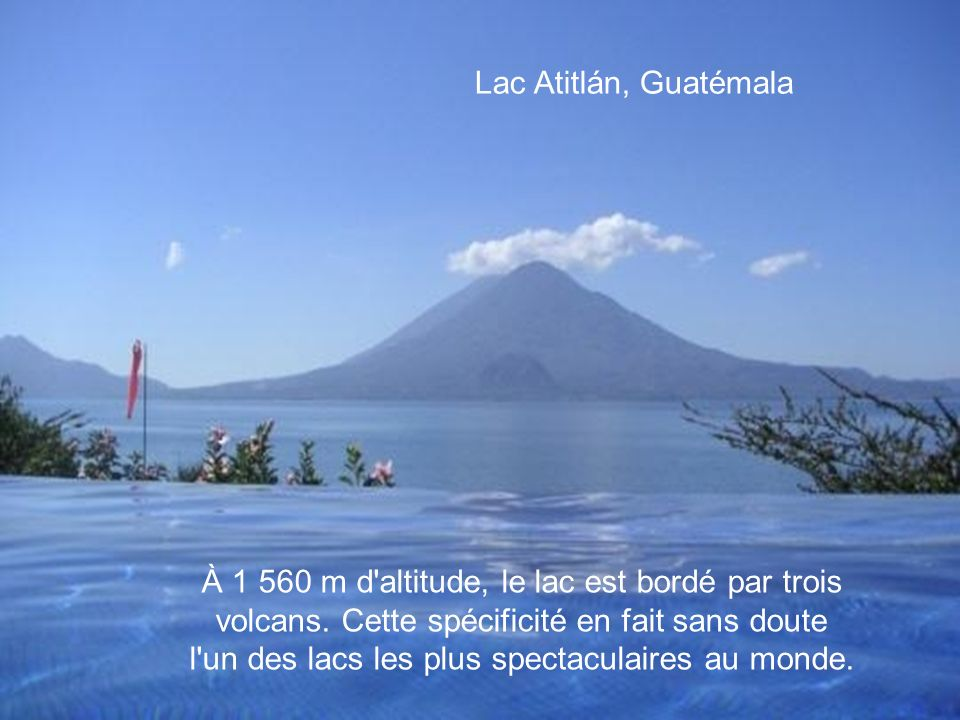 Lac Atitlán, Guatémala
