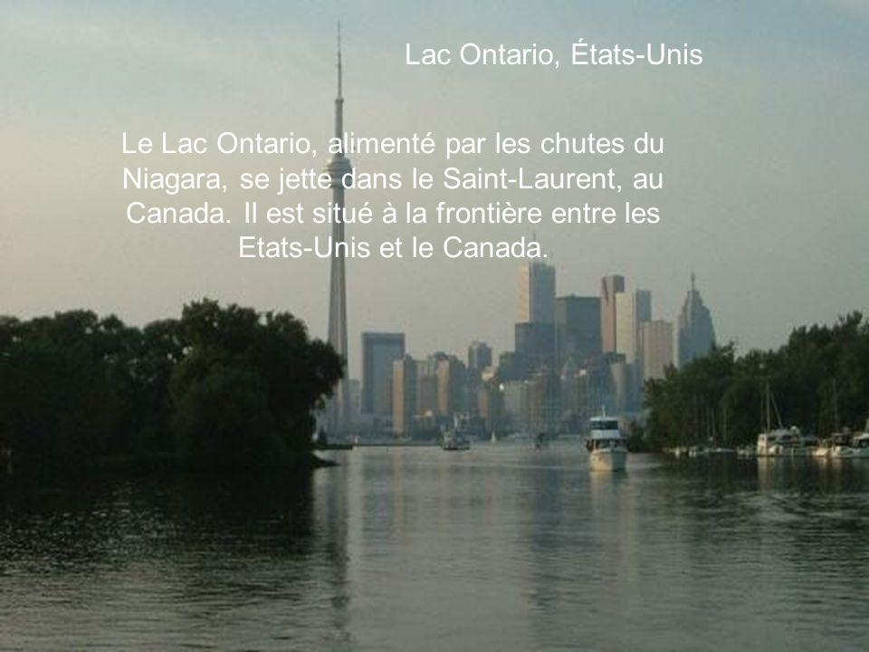 Lac Ontario, États-Unis