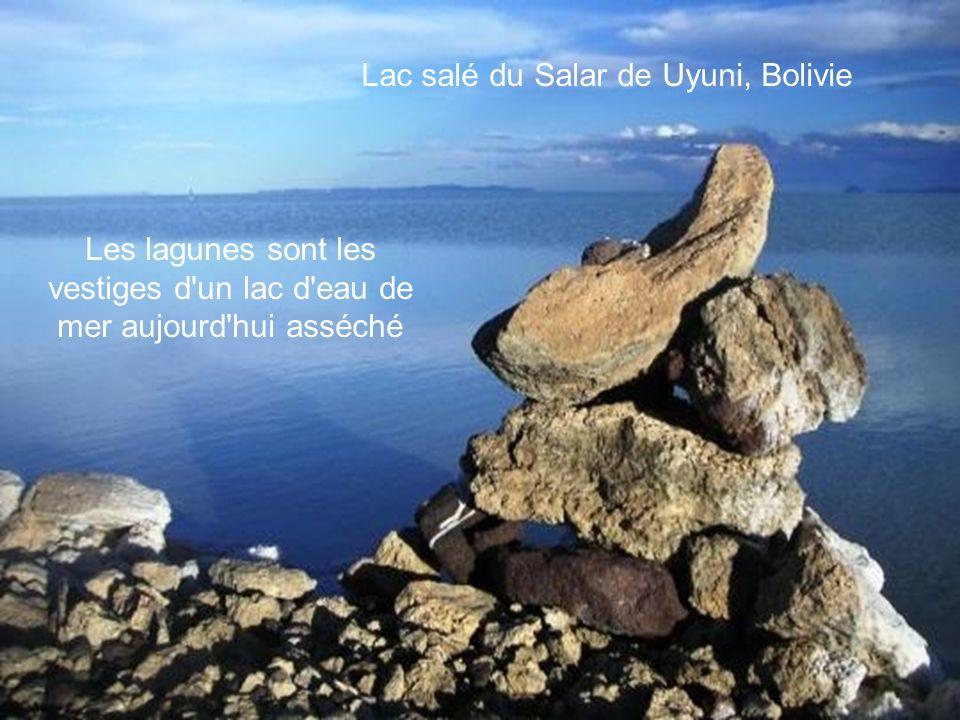 Lac salé du Salar de Uyuni, Bolivie
