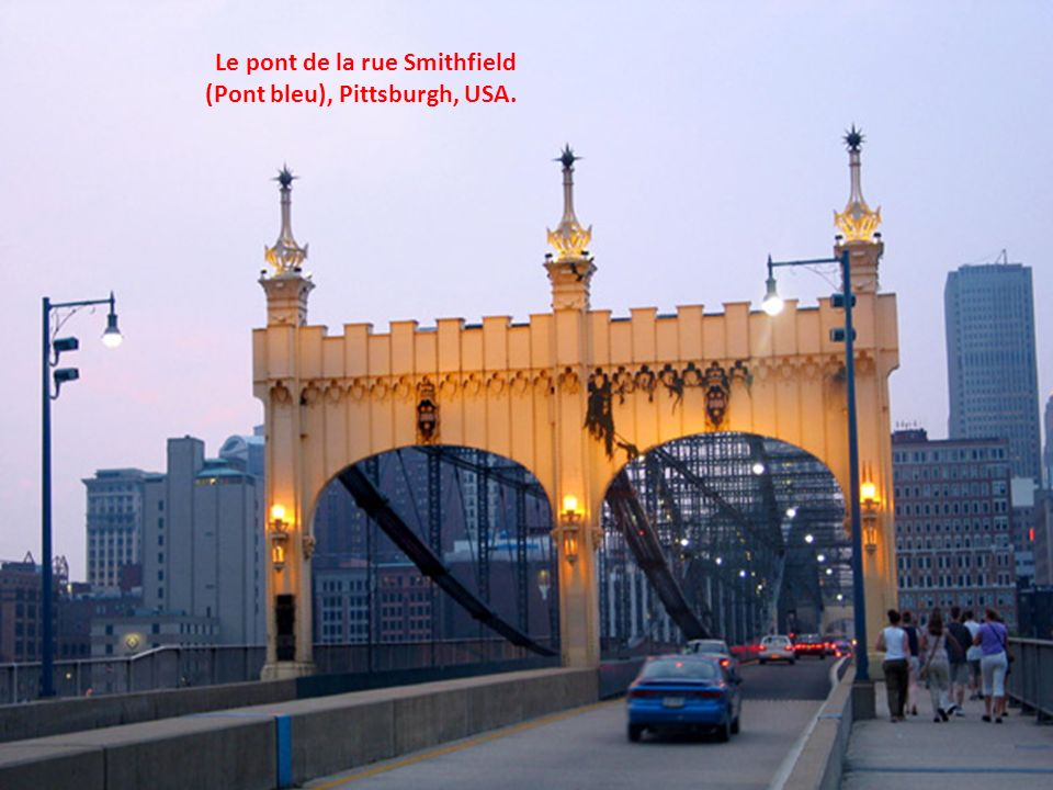 Le pont de la rue Smithfield