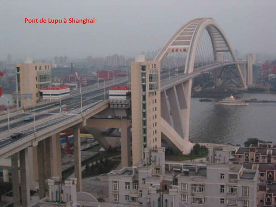 Pont de Lupu à Shanghai