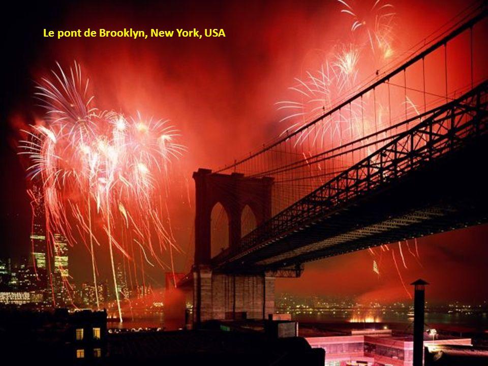 Le pont de Brooklyn, New York, USA