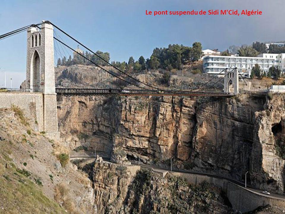 Le pont suspendu de Sidi M Cid, Algérie