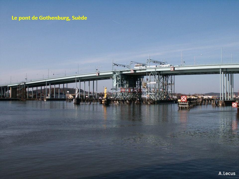 Le pont de Gothenburg, Suède
