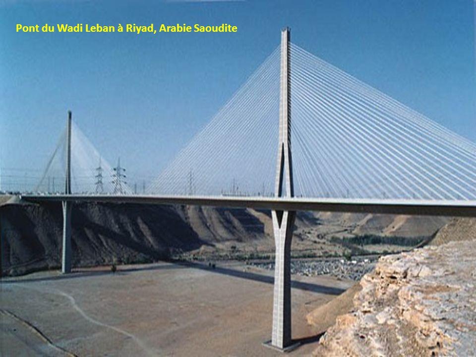 Pont du Wadi Leban à Riyad, Arabie Saoudite