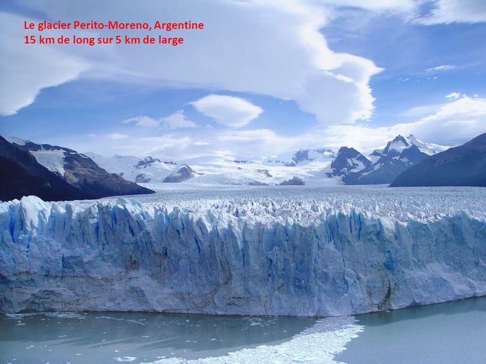 Le glacier Perito-Moreno, Argentine
