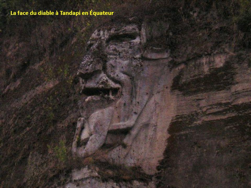 La face du diable à Tandapi en Équateur
