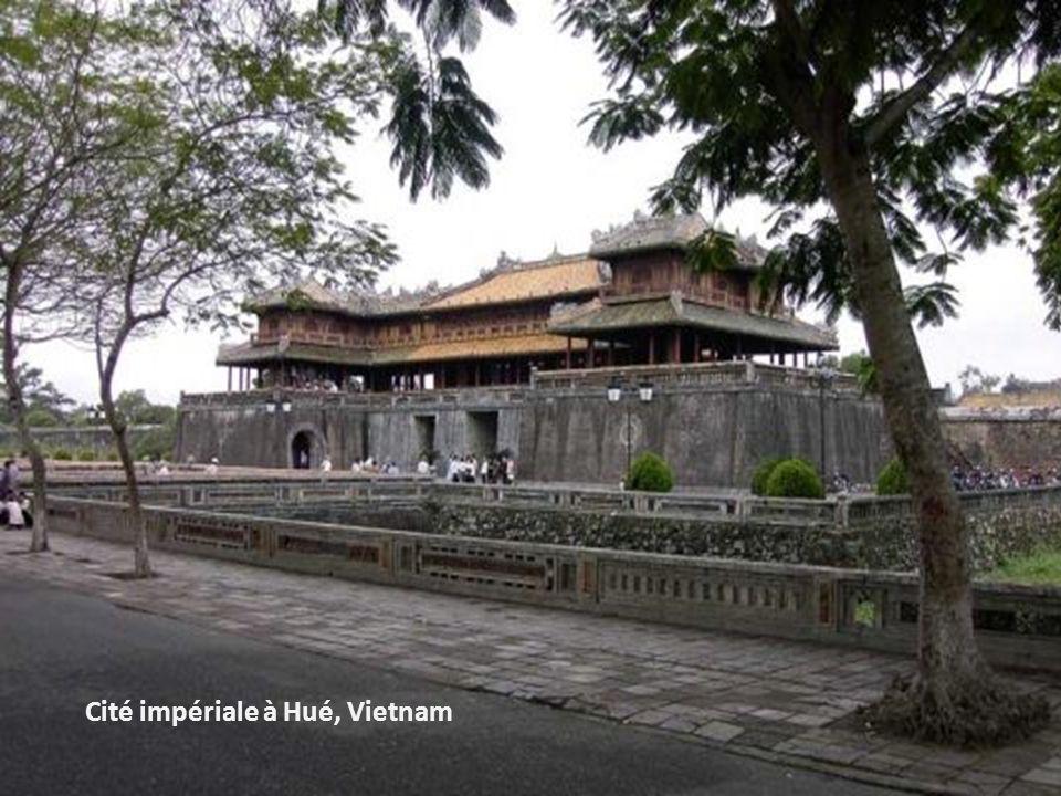 Cité impériale à Hué, Vietnam
