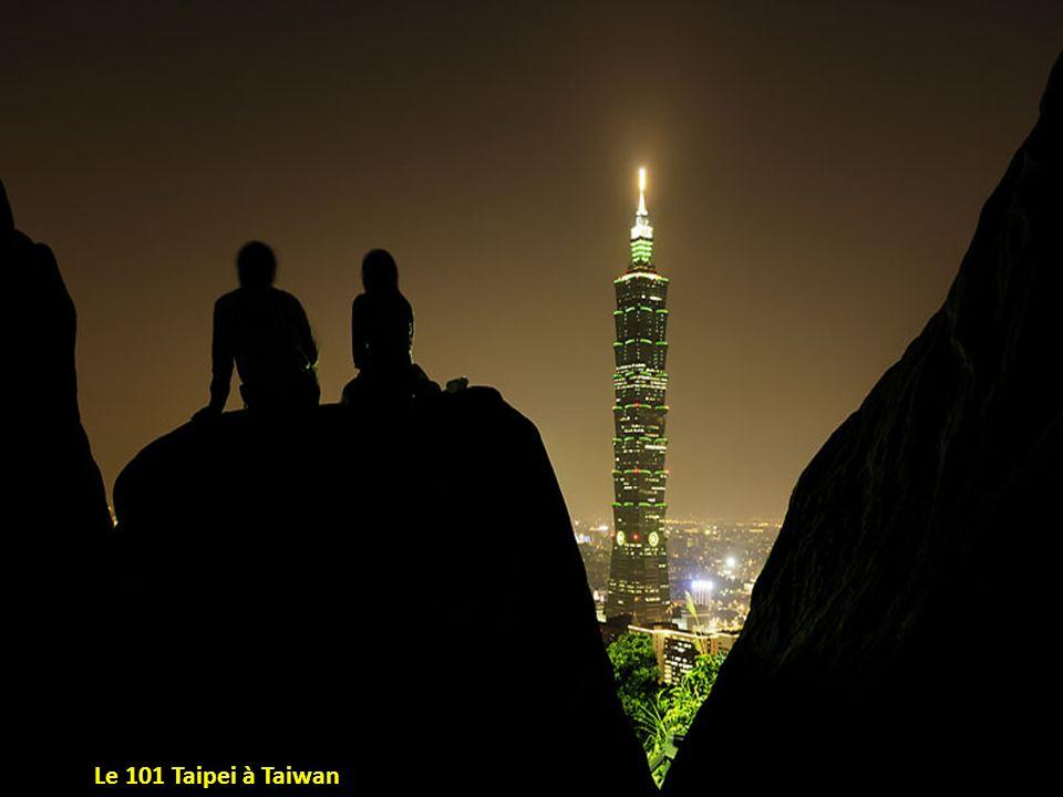 Le 101 Taipei à Taiwan