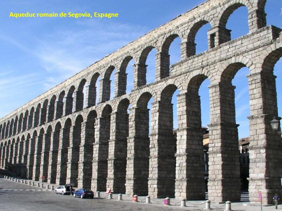 Aqueduc romain de Segovia, Espagne
