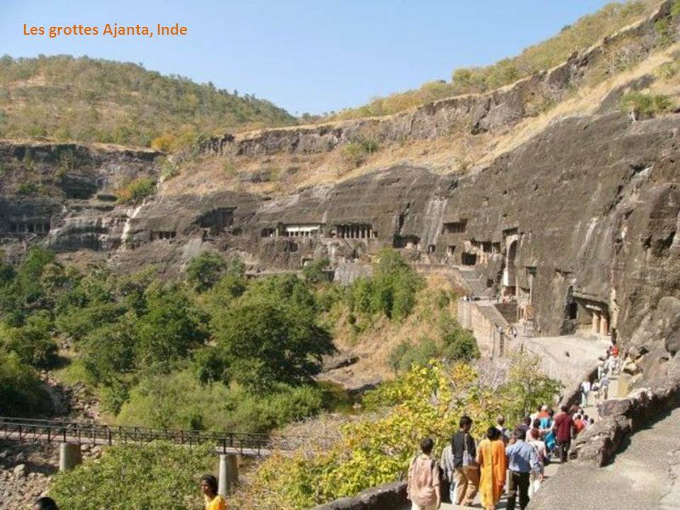 Les grottes Ajanta, Inde