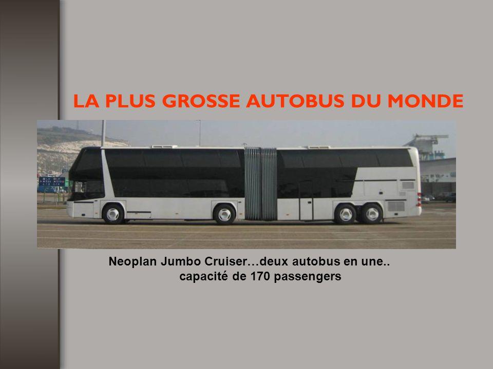 capacité de 170 passengers