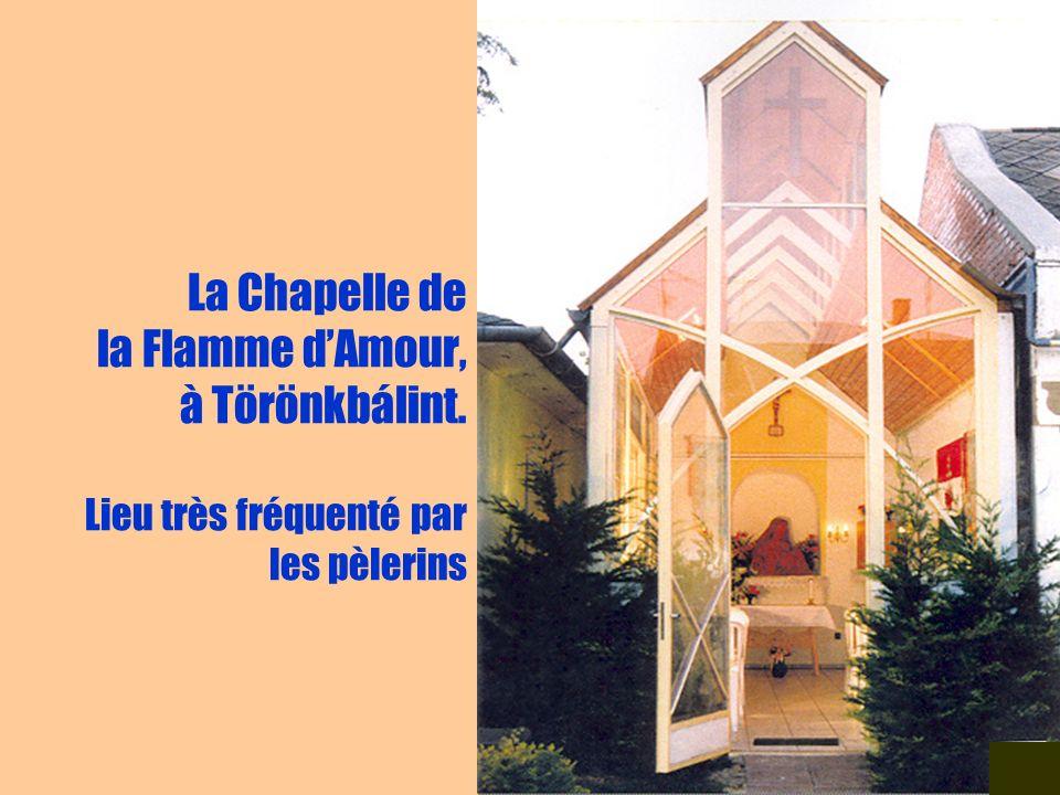 La Chapelle de la Flamme d'Amour, à Törönkbálint