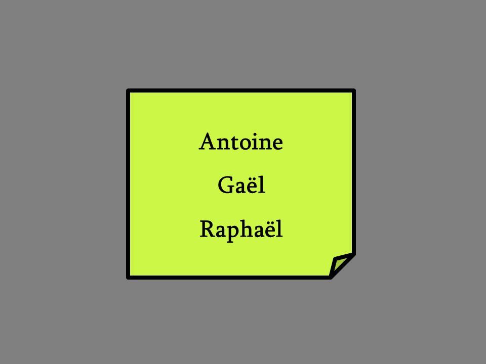 Antoine Gaël Raphaël