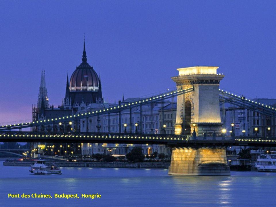 Pont des Chaines, Budapest, Hongrie