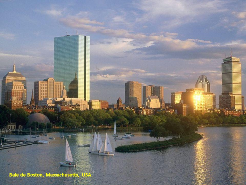 Baie de Boston, Massachusetts, USA