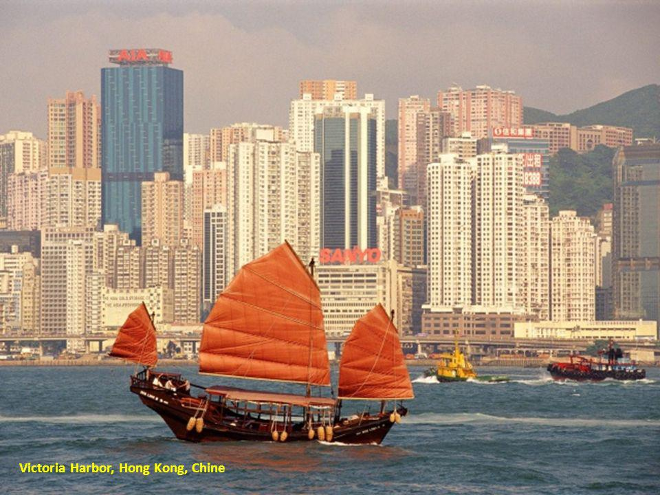 Victoria Harbor, Hong Kong, Chine