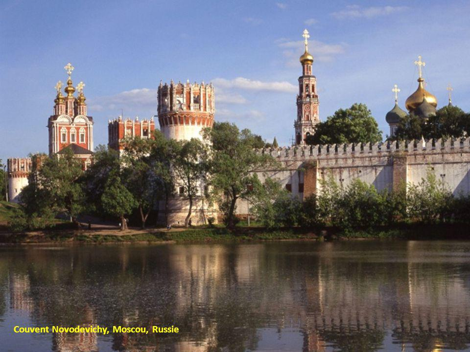 Couvent Novodevichy, Moscou, Russie