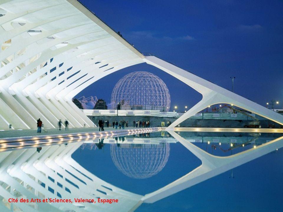 Cité des Arts et Sciences, Valence, Espagne