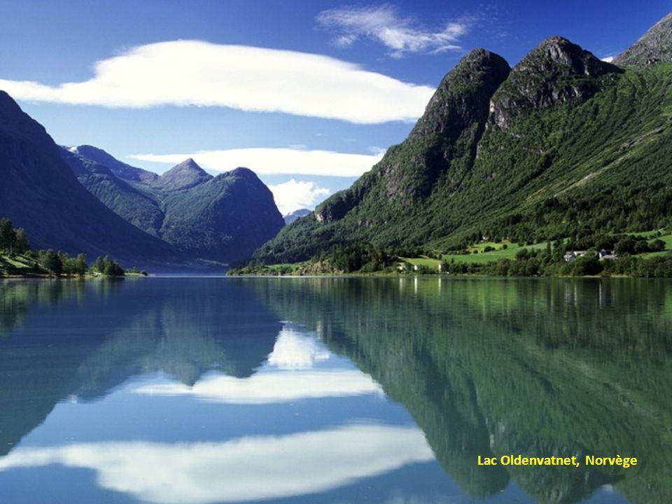 Lac Oldenvatnet, Norvège