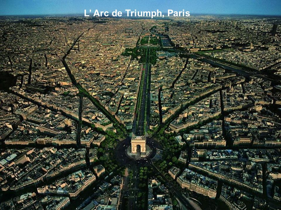 L' Arc de Triumph, Paris