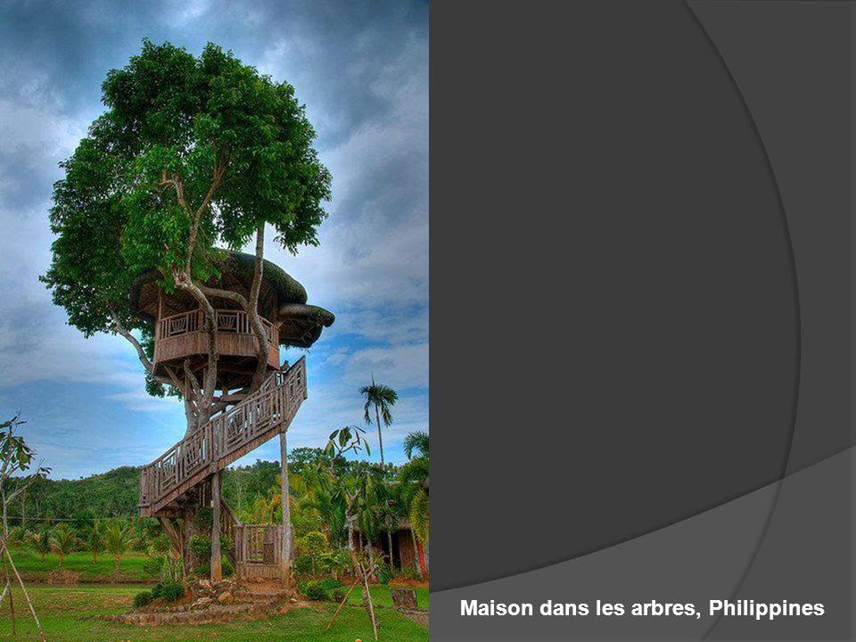 Maison dans les arbres, Philippines