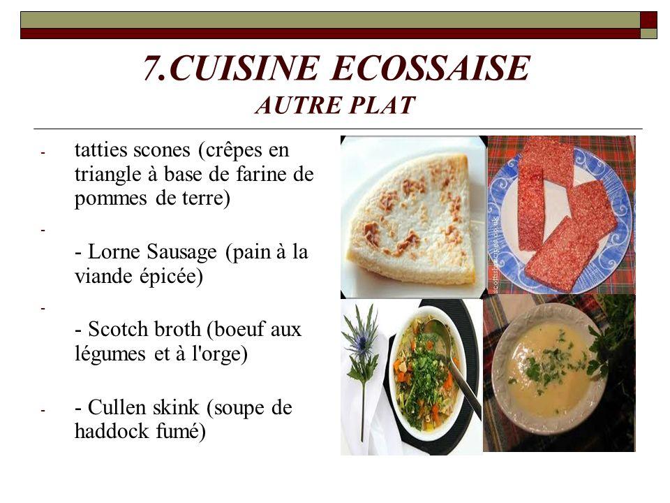 7.CUISINE ECOSSAISE AUTRE PLAT