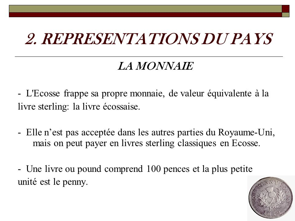 2. REPRESENTATIONS DU PAYS