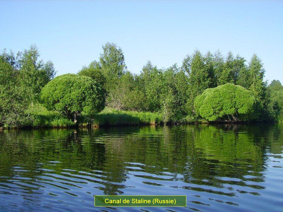 Canal de Staline (Russie)