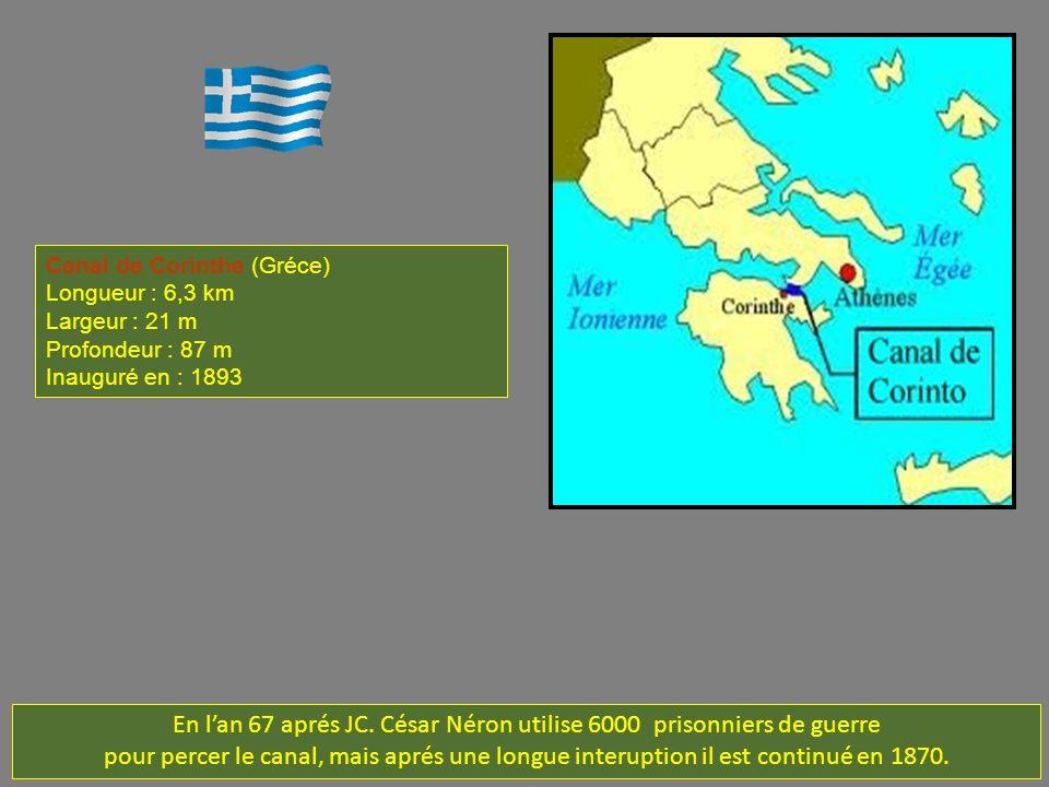 En l'an 67 aprés JC. César Néron utilise 6000 prisonniers de guerre