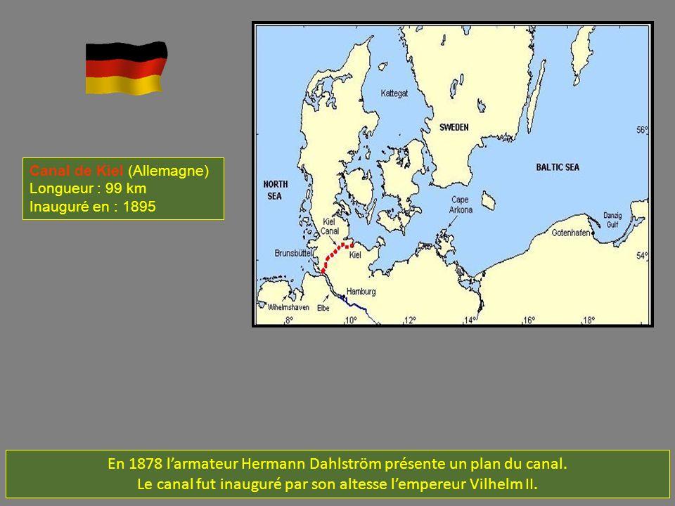 En 1878 l'armateur Hermann Dahlström présente un plan du canal.