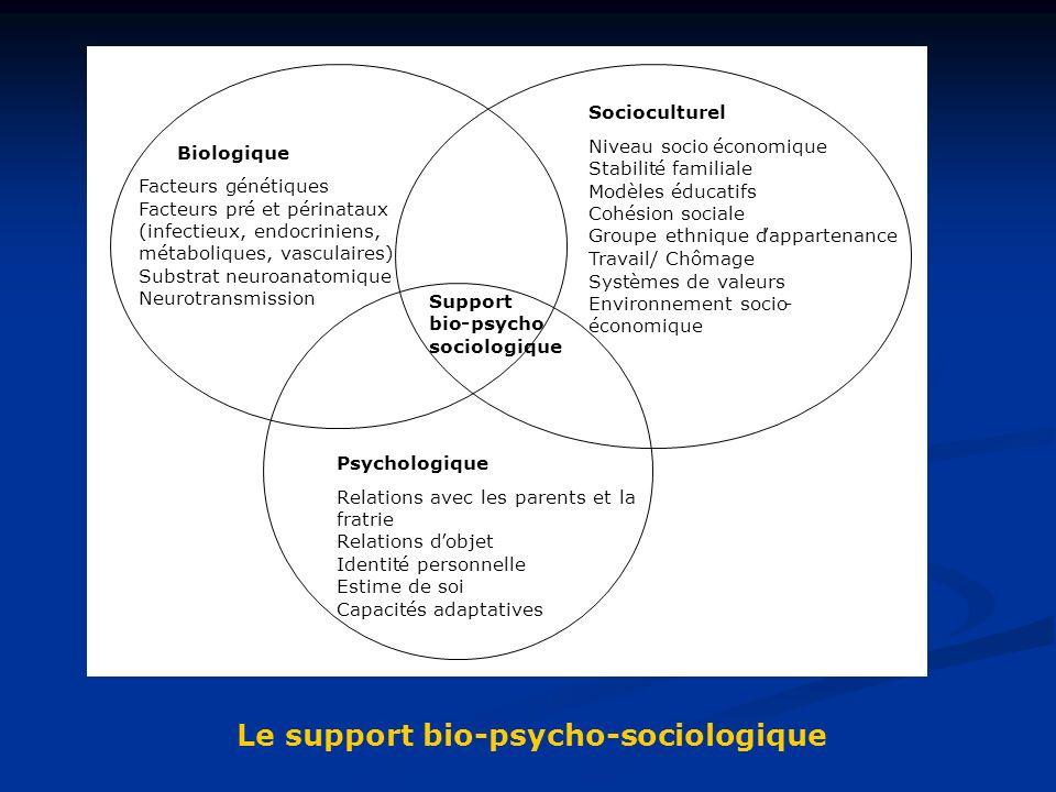 Le support bio-psycho-sociologique