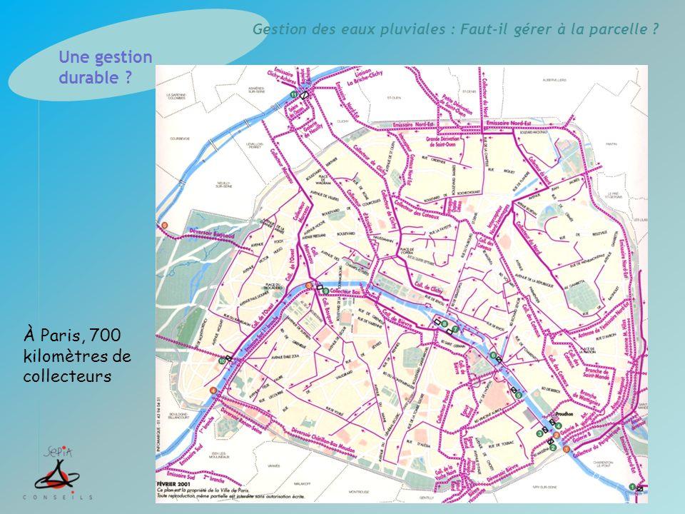 À Paris, 700 kilomètres de collecteurs