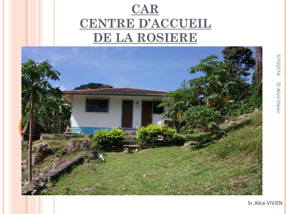 CAR CENTRE D'ACCUEIL DE LA ROSIERE