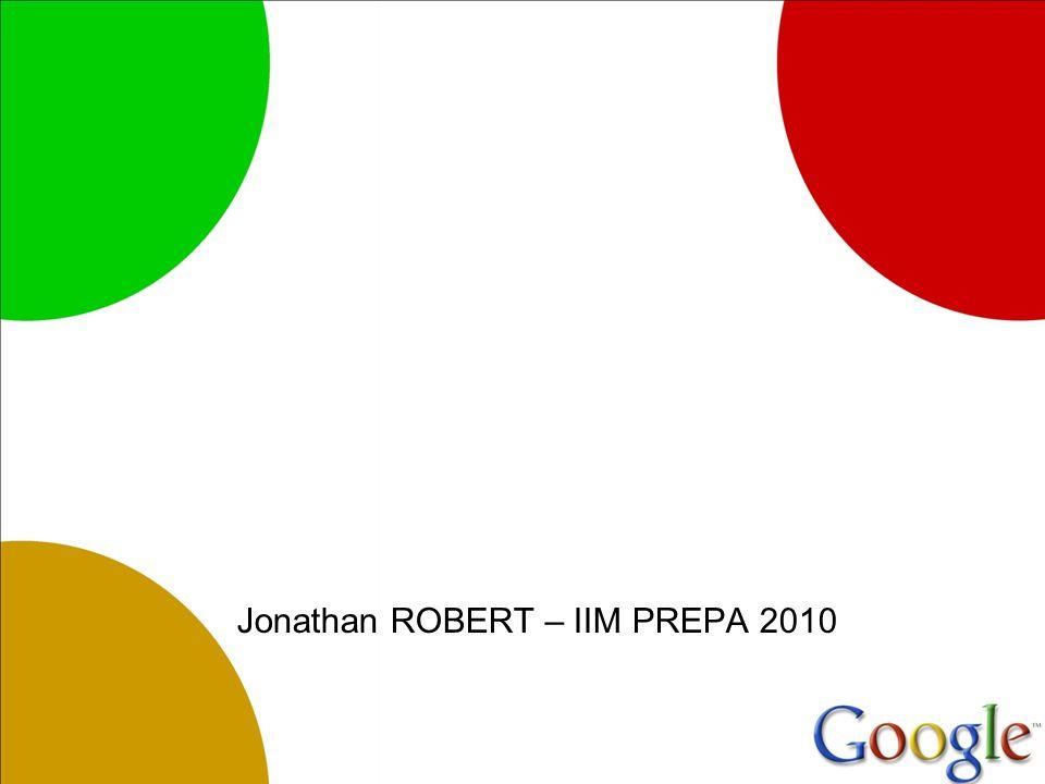 Jonathan ROBERT – IIM PREPA 2010
