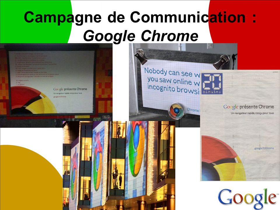 Campagne de Communication : Google Chrome