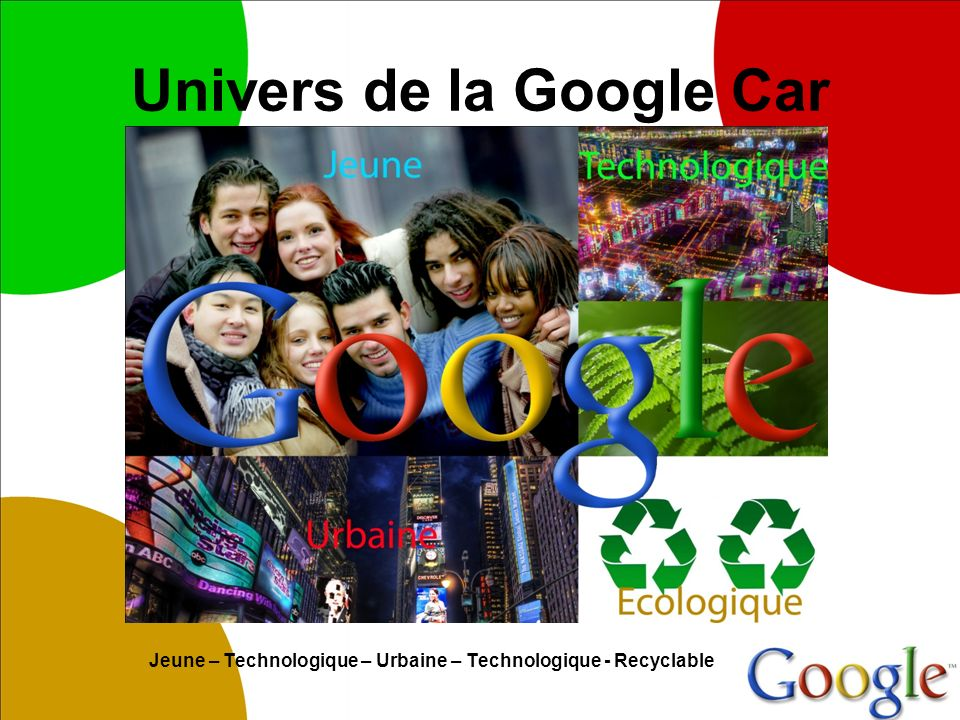 Univers de la Google Car