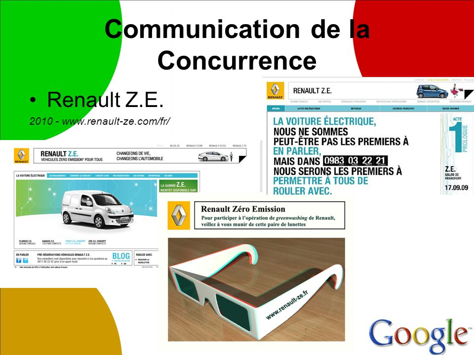 Communication de la Concurrence