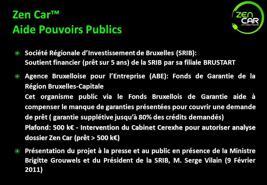 Zen Car™ Aide Pouvoirs Publics
