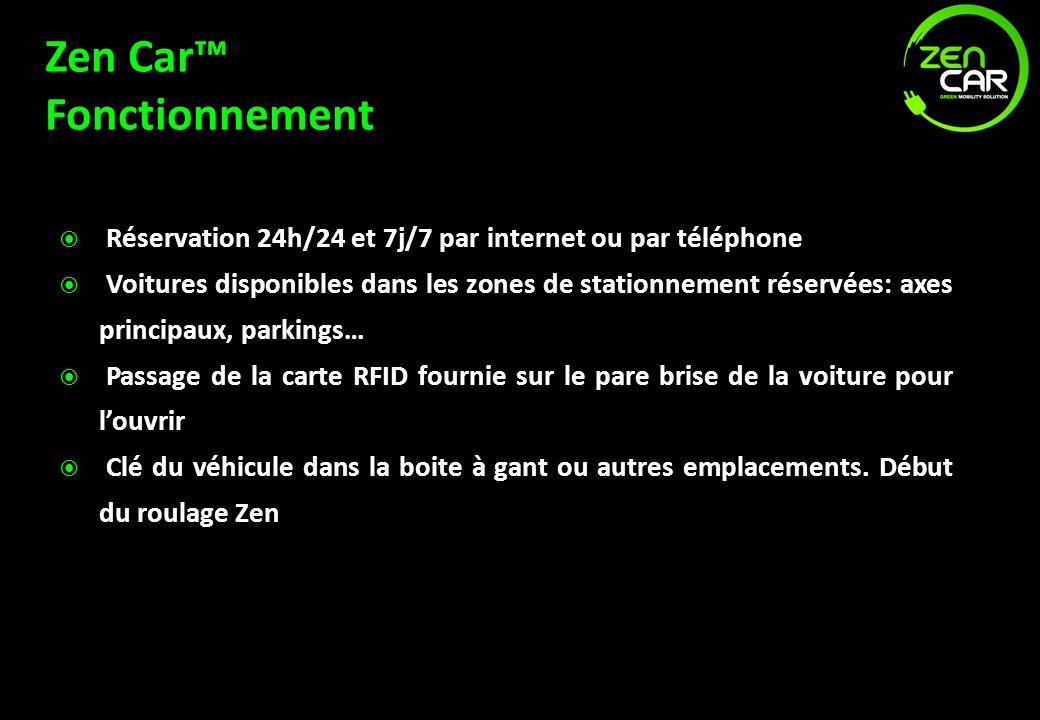 Zen Car™ Fonctionnement