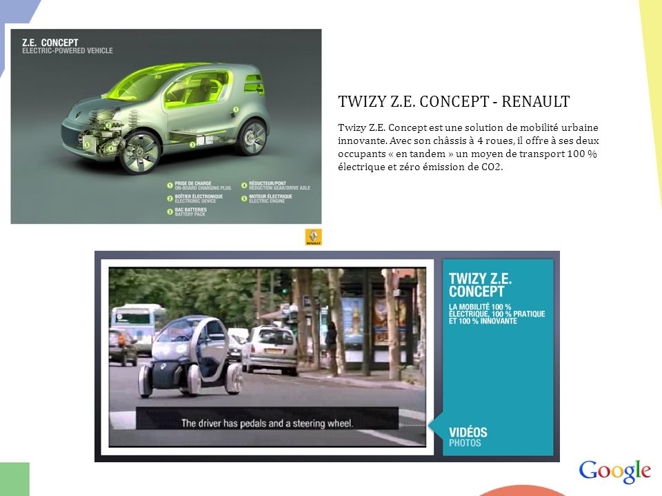 TWIZY Z.E. CONCEPT - RENAULT