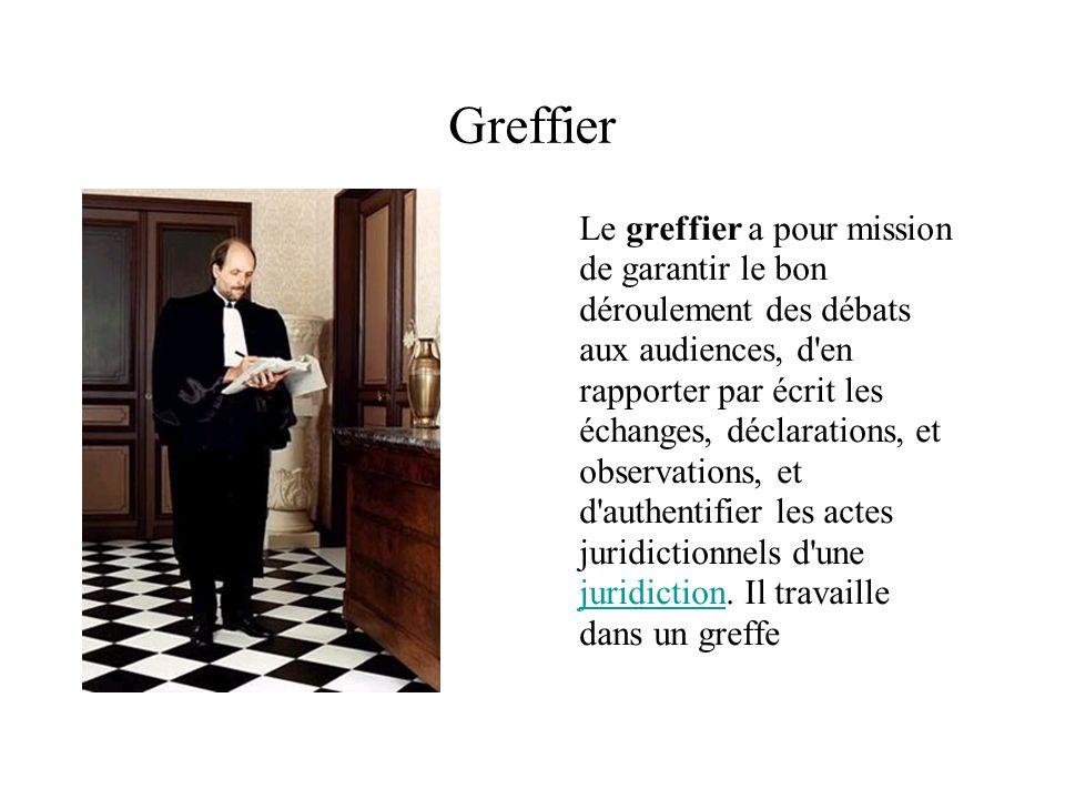 Greffier
